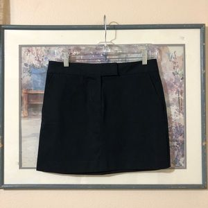 NWOT J. Crew Navy Mini Skirt